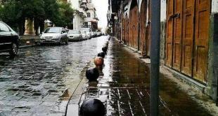 أمطار دمشق