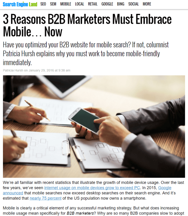 searchenglineland_-_3_reasons_b2b_marketers_must_embrace_mobile_now_1-26-16