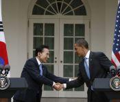 Obama goes to Korea (Sparkling!)