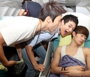 SM stars greet fans from the skies