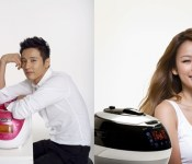 Lee Hyori and Won Bin in a Rice Cooker Throwdown