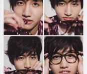 Changmin poses for SPUR Magazine and updates UFO