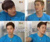 2PM says Taec acts the most differently in front of girls