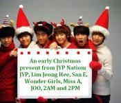 JYP and Co. Make the Holidays a Little Happier