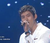 "Taecyeon sings ""My Valentine"" on Dream High"