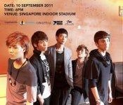 SHINee in Singapore