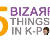The 5 Most Bizarre Things in K-Pop in October