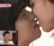 Eunjung and Lee Jang Woo Shocks With Their PDA