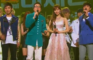 20121231_seoulbeats_mbcgayodaejun_joon_seohyun_boom_leehwijae