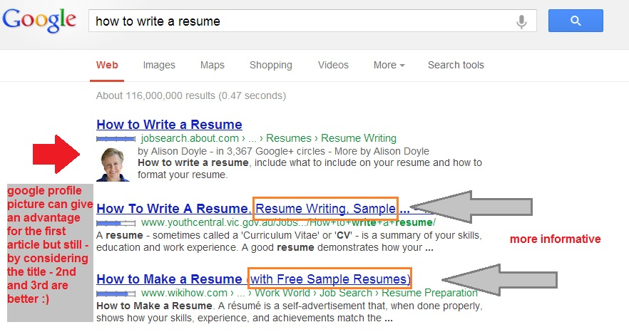 Best Way To Write A Title Tag For Better SEO and Traffic - how to write a better resume