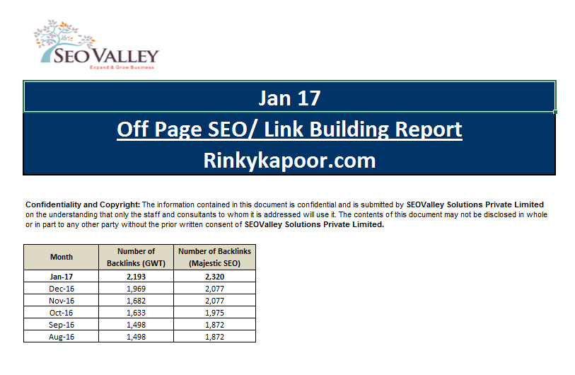 Sample SEO Reports, SEO Checklist, SEO Reporting SEOValley - seo plan template