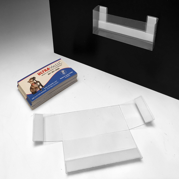 Acrylic Brochure Holders Plastic Business Card Displays Wall