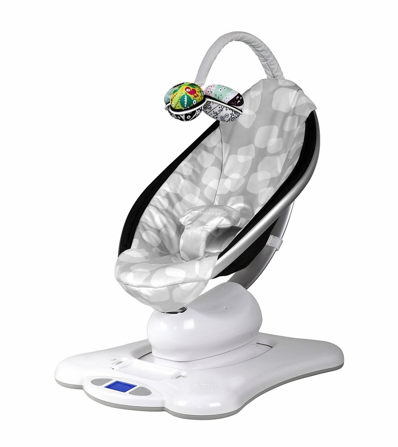 Mamaroo Infant Chair 4moms Mamaroo Silver Plush