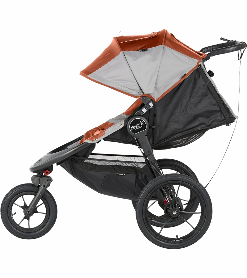 Baby Jogger X3 Summit Baby Jogger 2016 Summit X3 Jogging Stroller Orange Gray