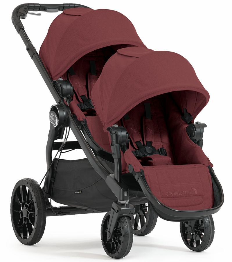 Baby Select Lux Baby Jogger City Select Lux Double Stroller Port