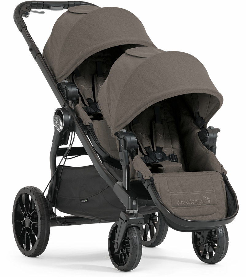 Baby Jogger City Select Video Baby Jogger City Select Lux Double Stroller Taupe