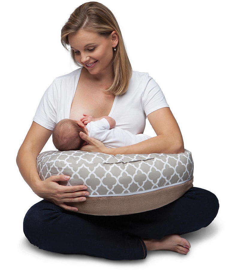 Boppy 2 Sided Breastfeeding Pillow Windsor Trellis - Babies R Us Infant Pillow