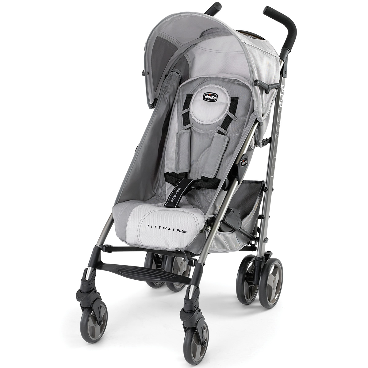 Chicco Stroller In 2 Chicco Liteway Plus Stroller Silver