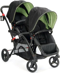 Small Of Contours Double Stroller