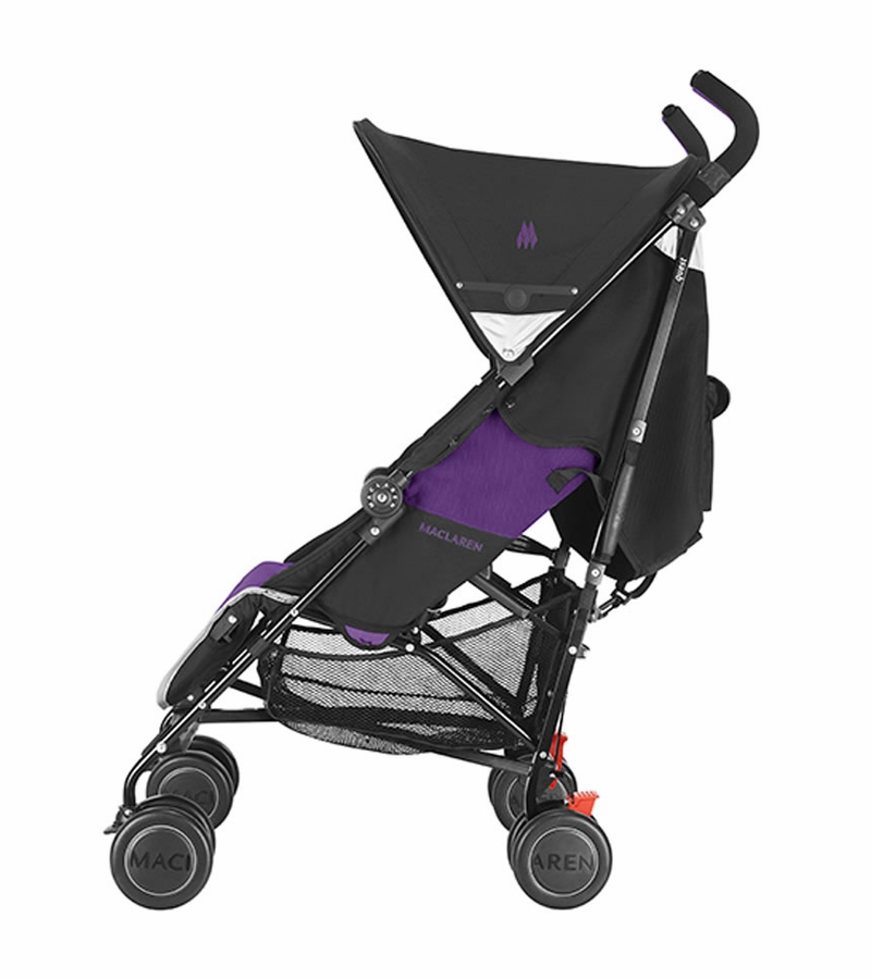 Double Buggy Out N About Maclaren Quest Sport Stroller Black Majesty