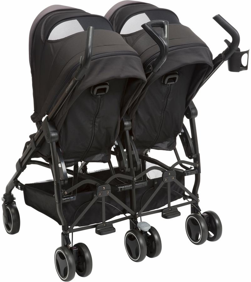 Baby Strollers Quinny Maxi Cosi Dana For2 Double Stroller Devoted Black