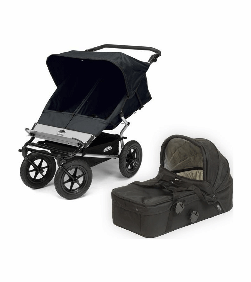 Double Stroller Mountain Buggy Mountain Buggy Urban Jungle Double Stroller With Carry Cot
