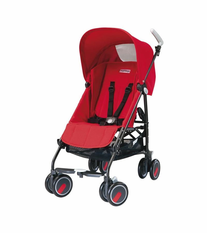 Peg Perego Stroller Red Peg Perego Pliko Mini Lightweight Stroller Fire Red