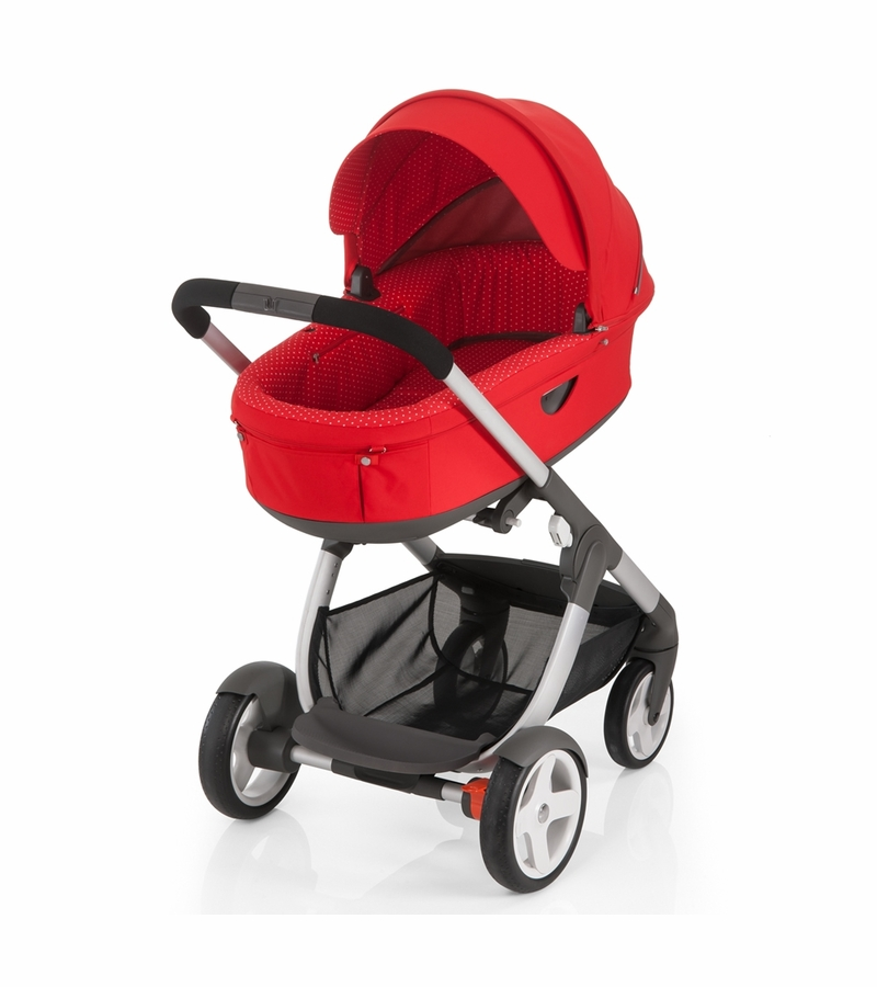 Silver Cross Buggy Toy Stokke Crusi Carriage Red