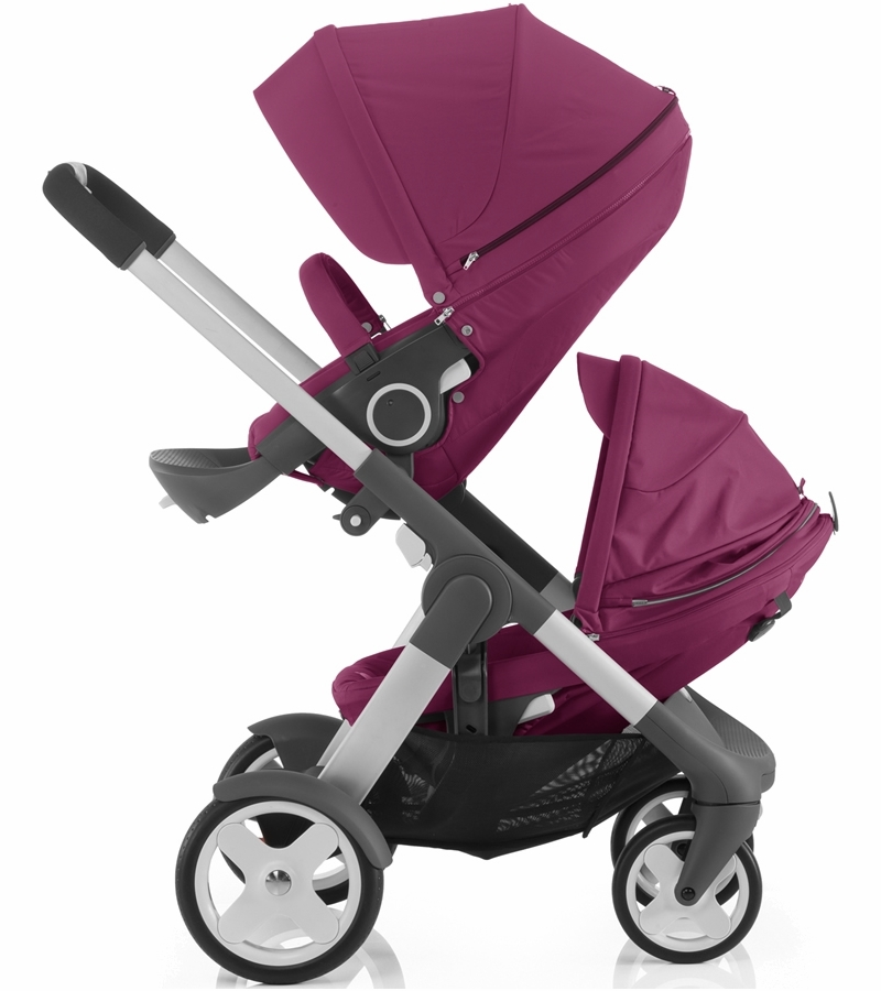 Stokke Stroller Changing Bag Stokke Crusi Double Stroller Purple