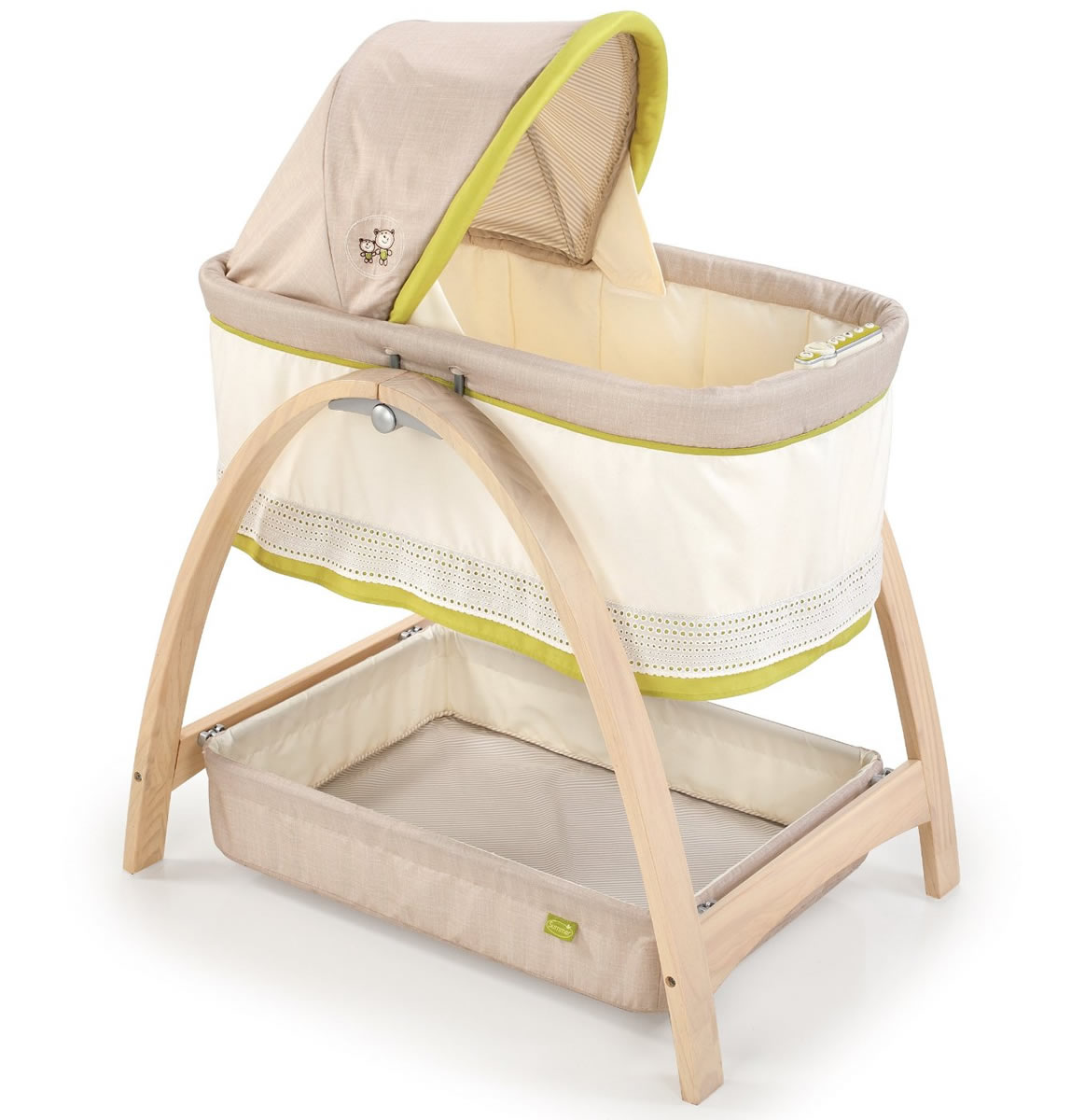 Stroller Bassinet Mattress Summer Infant Bentwood Motion Bassinet Bear Buddies