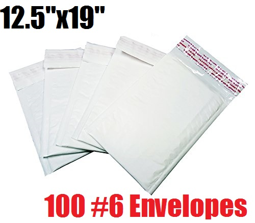 *On Backorder* iMBAPrice 100 Count - #6 - 125x19 Poly Bubble