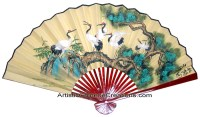 Chinese Wall Fans, Chinese Wall Decor, Chinese Paper Fans ...