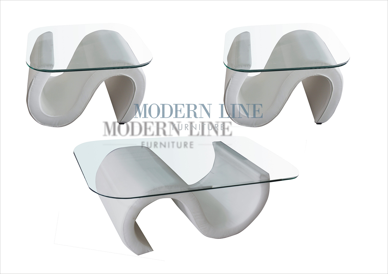 Modern line furniture commercial furniture custom made furniture seating collection coffee side tables model 69 ultra modern white leather