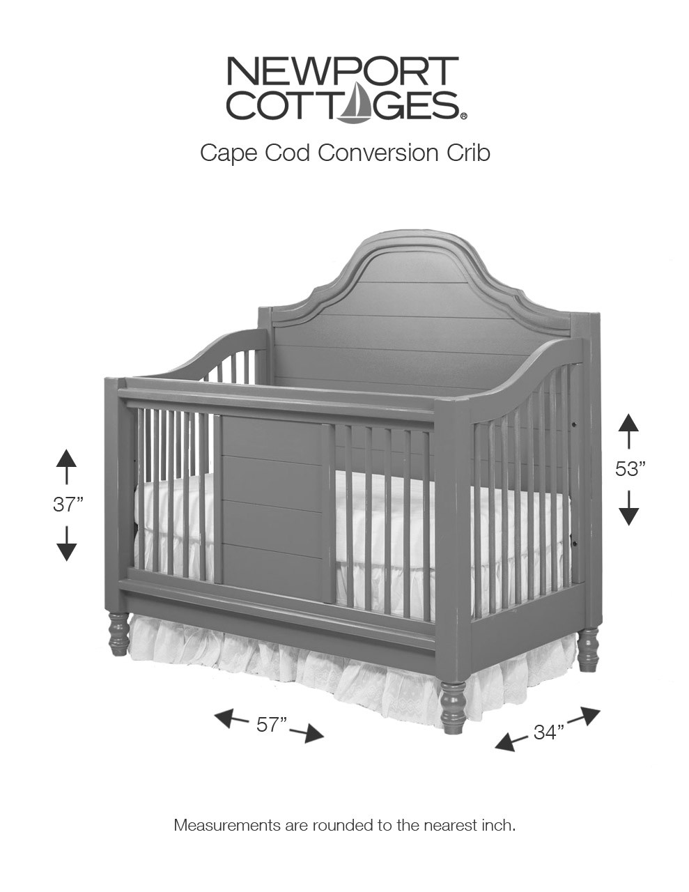 Baby Cod Newport Cottages Cape Cod Beadboard Conversion Crib Featured At