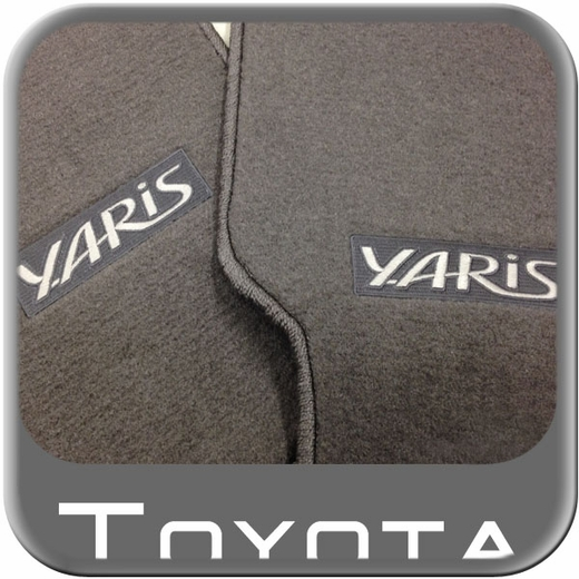 The Best New 2011 Toyota Yaris Carpeted Floor Mats From