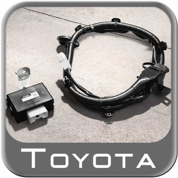 Trailer Wiring Harness For 2012 Toyota Tacoma Oem trailer tow hitch