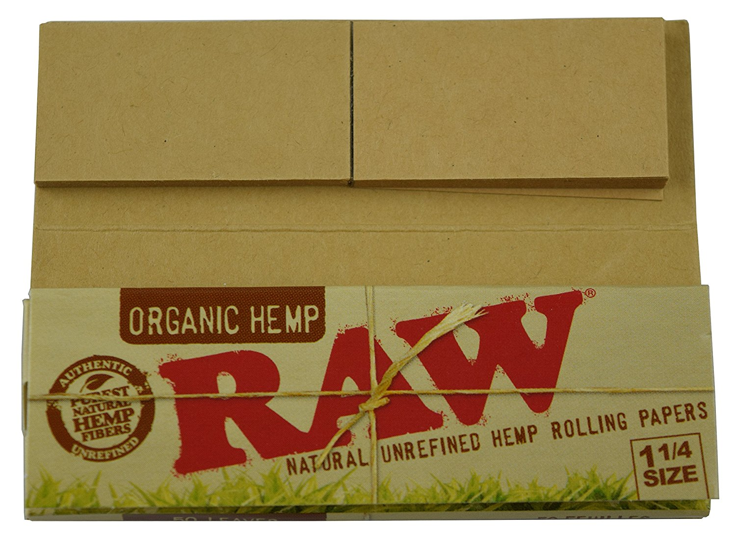 Organic Raw Connoisseur Pack Natural Unrefined Hemp