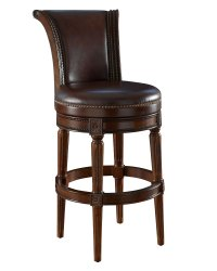 Leather Swivel Counter Bar Height Stools | Club Furniture