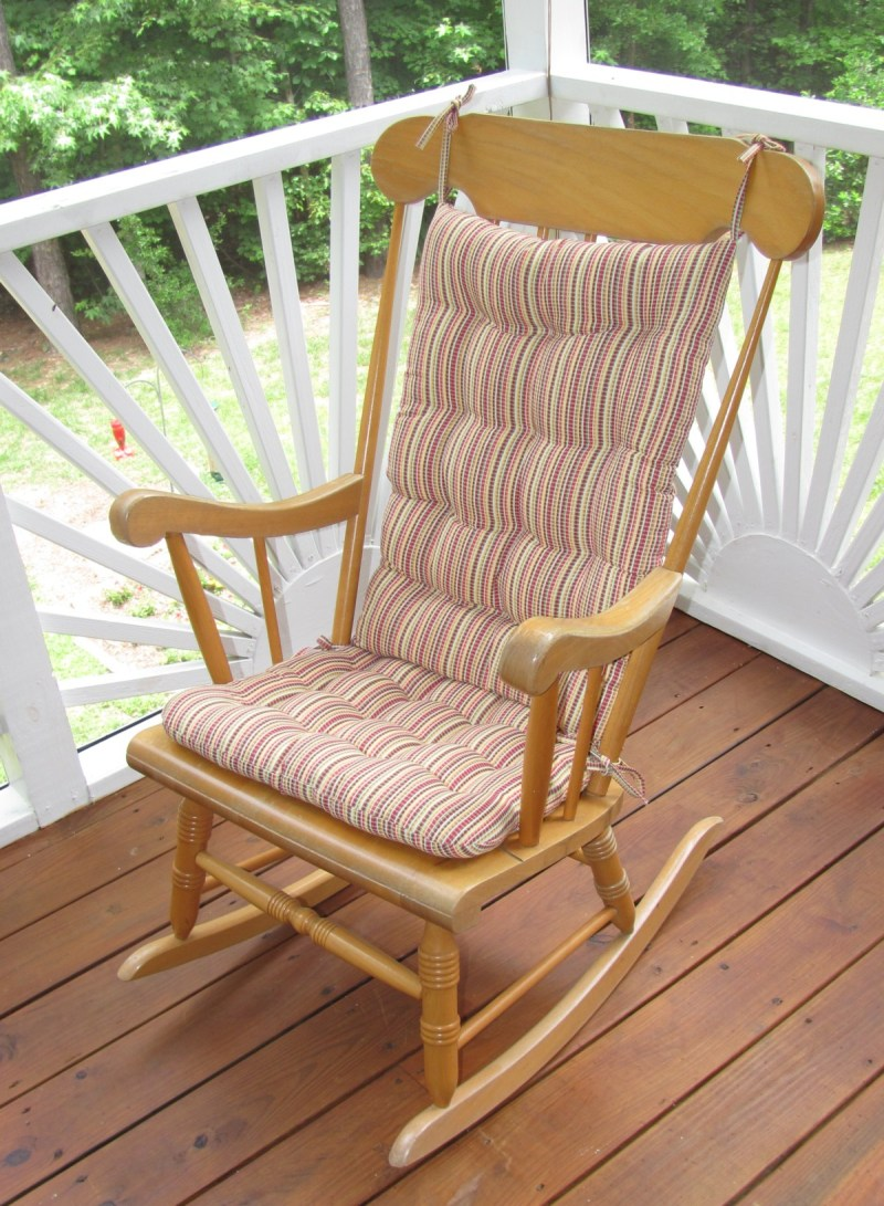 Large Of Rocking Chair Cushions