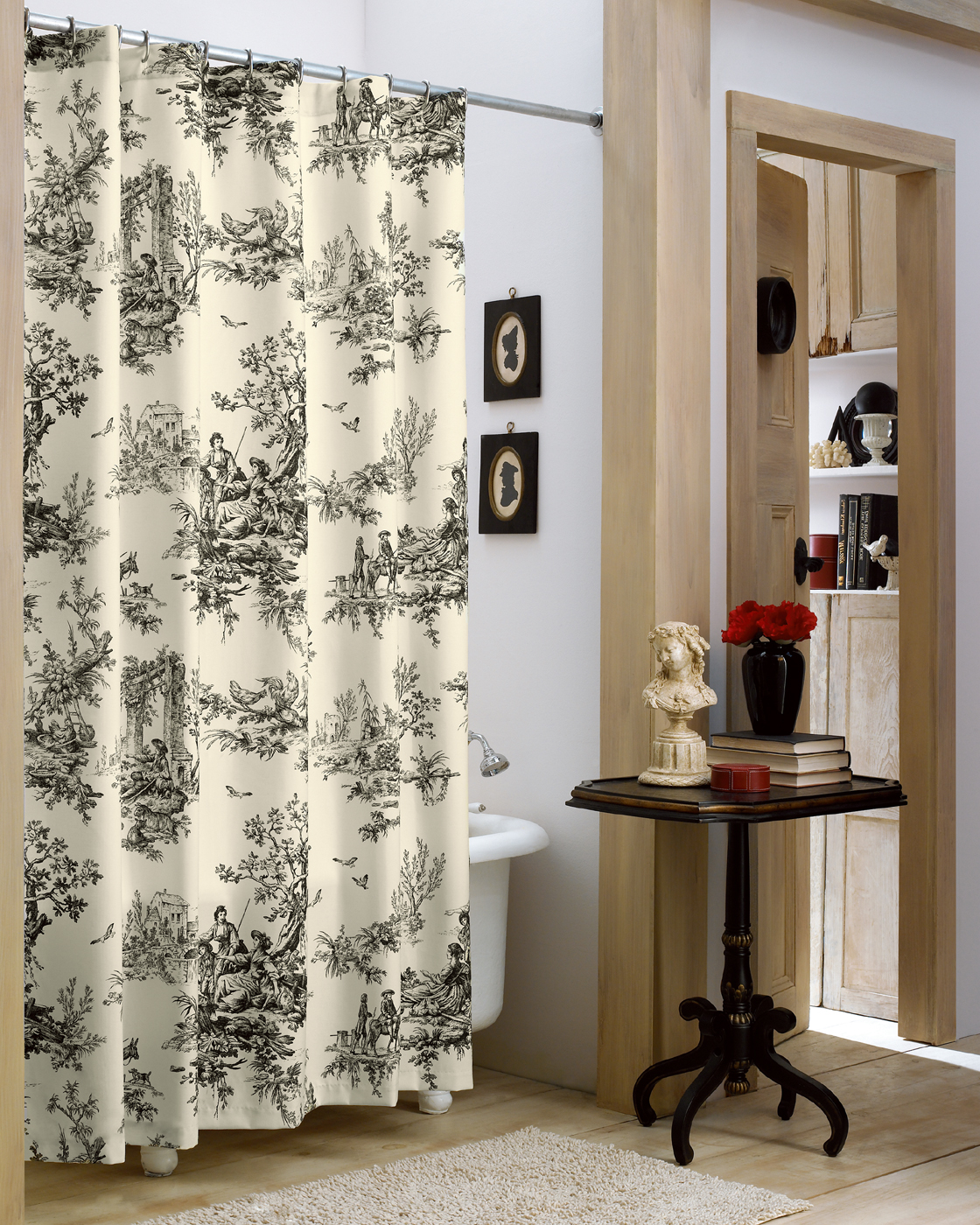 Shower Curtains For Less Shower Curtain Bouvier By Thomasville