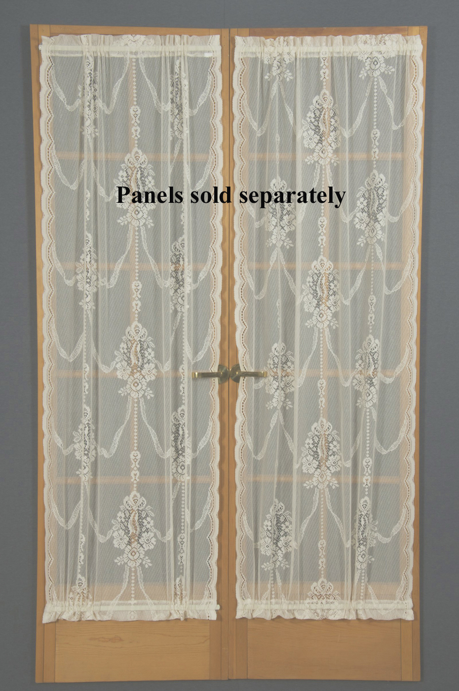 French Lace Curtains American Balmore Lace Door Panel