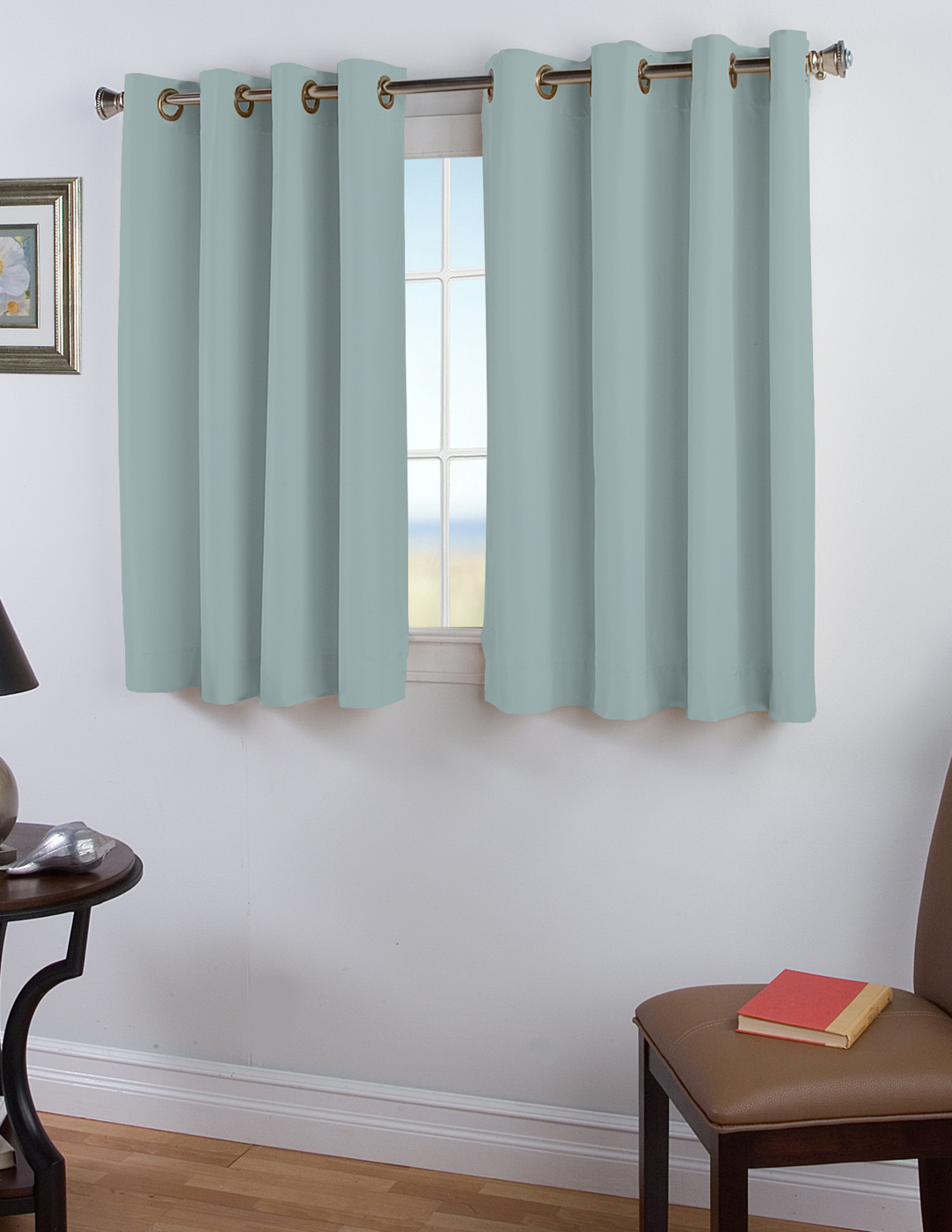 45 Inch Blackout Curtains 45 Inch Long Curtains Thecurtainshop