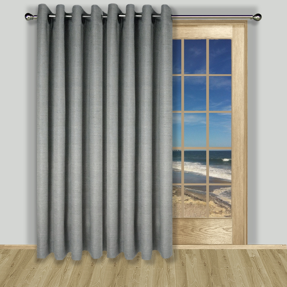 Thermal Patio Door Curtains With Grommets Patio Door Curtains Thecurtainshop
