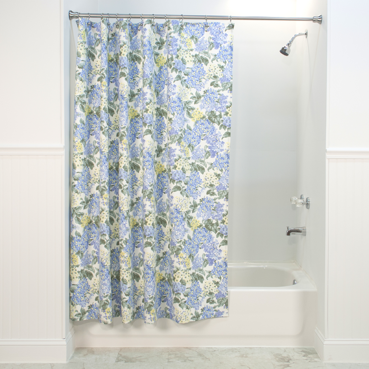 Usa Shower Curtain Hydrangea Shower Curtain