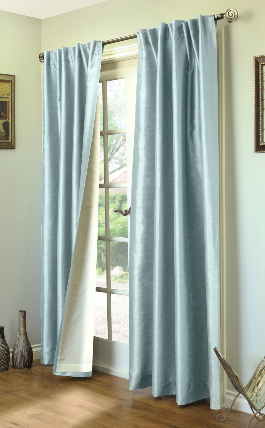 104 Inch Curtains Ming Lined Thermasilk Two Ways To Hang Curtain Panels Pair