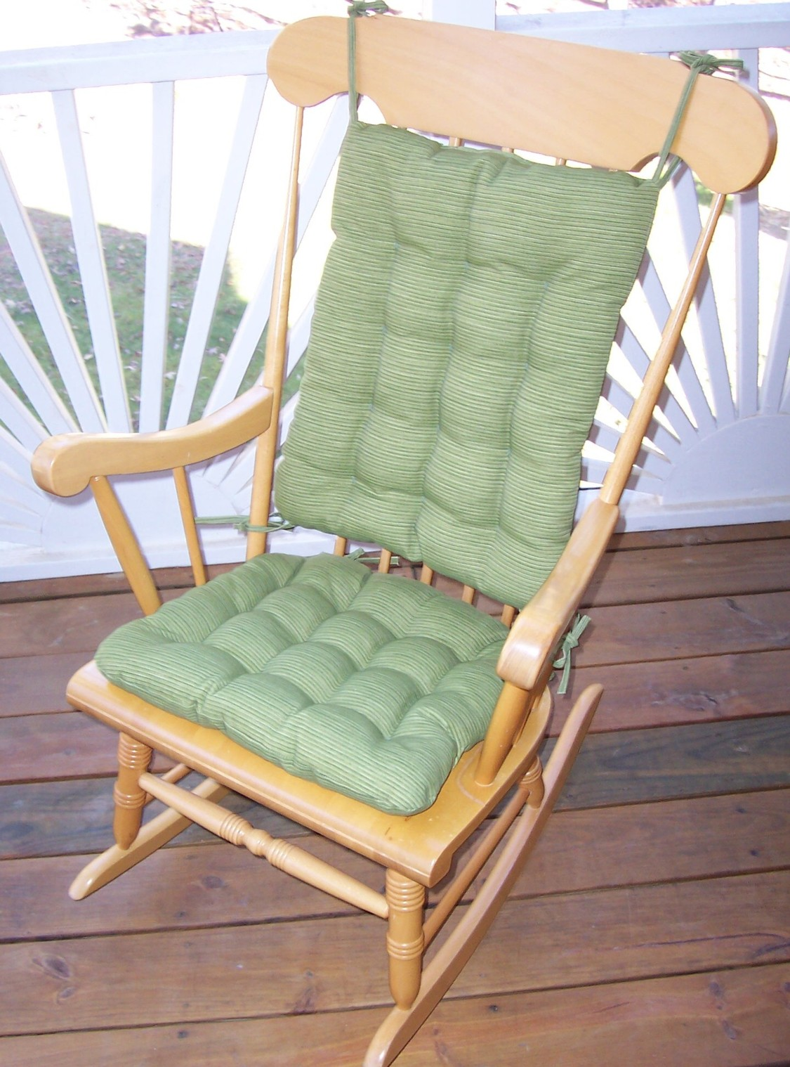 Rocking Chair With Cushions Rocking Chair Cushion Sets And More Clearance
