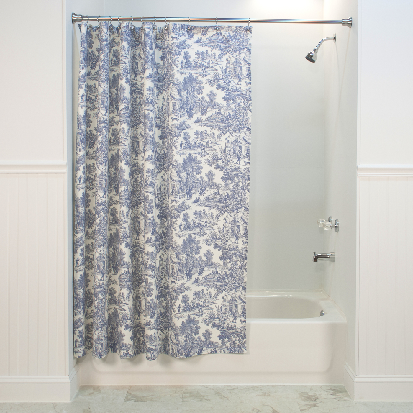 Usa Shower Curtain Victoria Park Toile Shower Curtain