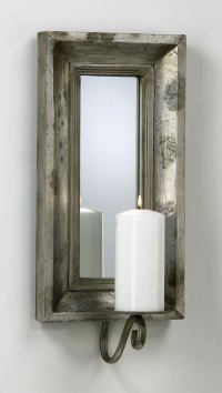 Abelle Candle Mirrored Wall Sconce by Cyan Design