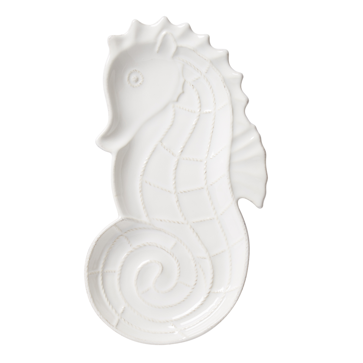 Juliska Berry & Thread Whitewash Seahorse Hostess Tray