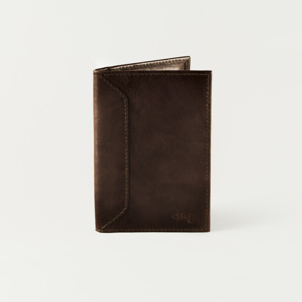 Passport Bedding Accessories Mission Mercantile Passport Wallet Walnut